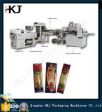 China fêz a máquina de embalagem automática cheia do macarronete com três pesadores