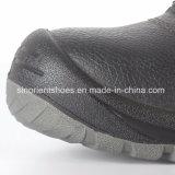 Sapatas de segurança de couro industriais com certificado Snb103 do Ce