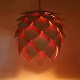 do modelo quente da venda do a&L lâmpada artística do pendente do estilo do cone do pinho