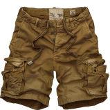 Shorts Pocket lavati cotone della scheda di modo del carico degli uomini