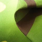 100 % polyester Veste Taslon tissu imprimé pour