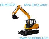Multifunctioneel MiniGraafwerktuig 7ton (SE70) voor de Landbouw, de BurgerBouw, het Tuinieren