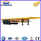 30 Fuß Flachbettbehälter-LKW-Schlussteil-Ausschnitt-von der hinteren Befestigung für den Behälter