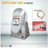 Laser de tecido suave dental para branqueamento de dentes