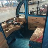 Trois tricycles hybrides adultes électriques de cargaison de roue/essence avec le capot