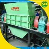 Shredder dobro do triturador do eixo para o desperdício/plástico/pneumático/metal/fibra médica/recicl de madeira