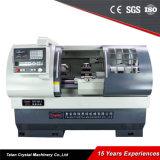 Faible coût lit plat de nouveaux prix tour CNC CK6136A