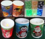 Vacaciones de plástico LED encender velas (LP007)