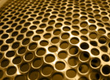알루미늄 관통되는 금속 메시, 훈장을%s 펀치 구멍 장, 관통되는 장