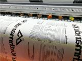 Impresora ancha del formato usar el papel de transferencia