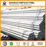 Ss400 P235 de galvanizado en caliente del tubo de acero redondo