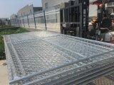 6 ' x12'chain 링크 담은 임시 건축 용지 담을 깐다