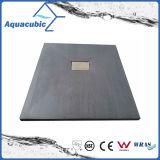 De sanitaire Basis van de Douche van de Oppervlakte SMC van Waren 800*800 Houten (ASMC8080W)