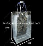 女性のための明確なPVC装飾的なパッキング袋