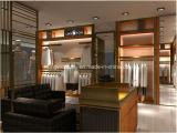 주문 Menswear Shopfitting 의 남자 의복 또는 의류 또는 신발 상점 전시 정착물