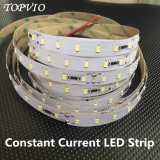 Luz de tira flexible constante de la corriente SMD2835 LED para la decoración