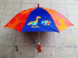 男の子および女の子(KID-0019Z)のためのカスタマイズされた子供の漫画のまっすぐな子供の傘