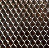 El metal expandido de diamantes de la hoja de Panel de malla de alambre