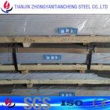 feuille de plaque de l'alliage 3003 1060 d'aluminium pour la décoration de construction en stock en aluminium de feuille
