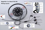 Wir Kit (external-Controller) 48V 1000W Brushless&Gear/einfaches E-Bike D.I.O Kit
