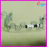 tessuto di maglia di guarnizione di 1.5cm con il Sequin