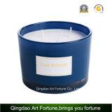 3 Ölerfilz-Glasglas-Kerze mit Luxuxgeschenk-Kasten