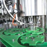 máquina de la botella de cerveza de la botella de cristal 3000bph con el casquillo de corona