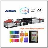 Machine d'impression non tissée simple automatique d'écran de tissu de couleur