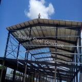 Простая установка модульного стальной каркас здания складов для продажи