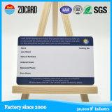 Bester kundenspezifischer Plastik-Belüftung-Besuchskarten des Drucken-4color