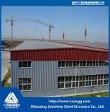 Estructura de acero galvanizada prefabricada del material de construcción para el edificio prefabricado