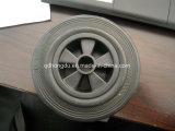 Roda de borracha contínua barata de 5 polegadas com alta qualidade