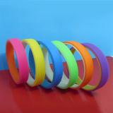 Zoll 2 Schicht-Silikonwristbands-Gummi-Armbänder