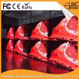 Hohe Auflösung-Innendruckgießende Aluminiummiete P4.81 LED-Bildschirmanzeige