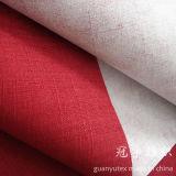 La imitación de lino Sofá de la tela con cubierta de cepillado