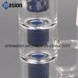 Garnitures convenables d'équipement de TAPE de fleur en verre de pipe de percolateur de 3 couches (LY011)