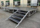 Plate-forme réglable en aluminium stade Stade de mariage en plein air