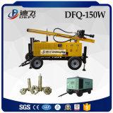 공기 압축기로 작동하는 150m Dfq-150W DTH 드릴링 기계