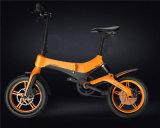 Design en forme de Cheetah E Bike avec pliage rapide et de la batterie à libération rapide