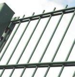 Double clôture soudée horizontale de fil