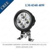 자동 LED 모는 빛 ATV UTV Offroad 차 LED 빛 일 40W 크리 말 4.7 인치