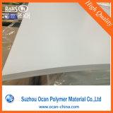 白いPVC薄いプラスチックシート、300 Mirconシルクスクリーンの印刷のための白いマットPVC堅いシート