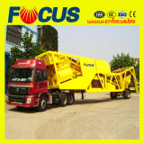 75cbm/H Mobile Ready Mix Concrete Plant/Towable Central Readymix Factory (YHZS75)