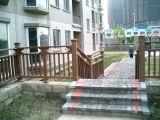 Clôture et clôture en plastique du bois