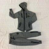 Одежды Tracksuits Longline мальчика способа с застежкой -молнией Sq-6451
