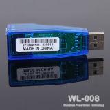 USB2.0to RJ45 イーサネット 10/100 Mbps ネットワークアダプタ LAN カード( WL-008 )