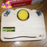 Placa de madeira da atividade da criança da placa ocupada adiantada a mais quente nova da instrução para o bebê DIY W12D082