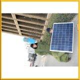 réverbère d'énergie solaire de 9m