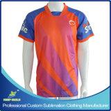 フットボールの試合のチームのためのカスタム昇華印刷のフットボールのTシャツ