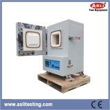 Коробка закутывает - печь работая в высокотемпературной печи лаборатории